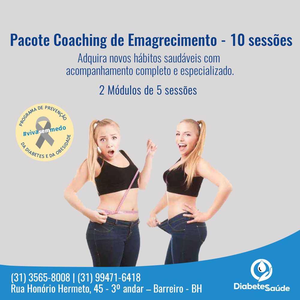Coaching de Emagrecimento - Mude agora!